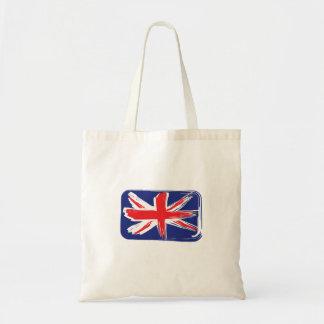 Bolso de la bandera de Union Jack Bolsas