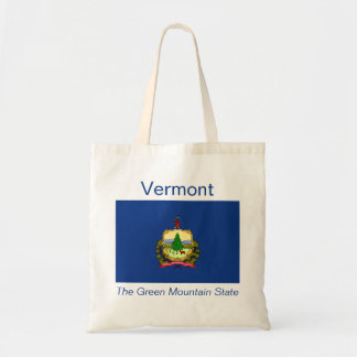 Bolso de la bandera de Vermont Bolsa Tela Barata
