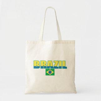 Bolso de la bandera del Brasil Bolsa Tela Barata