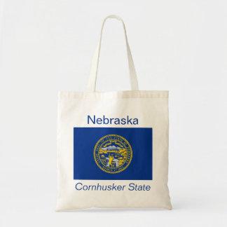 Bolso de la bandera del Nebraskan Bolsa Tela Barata