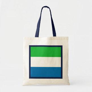 Bolso de la bandera del Sierra Leone Bolsa