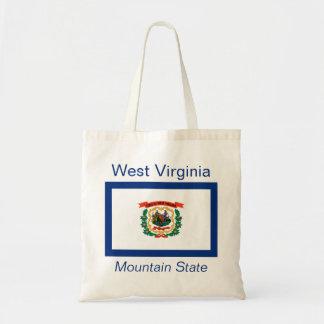 Bolso de la bandera del Virginian del oeste Bolsa Tela Barata