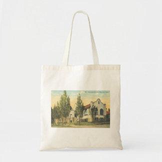 Bolso de la biblioteca de Moscú Idaho Carnegie Bolsas