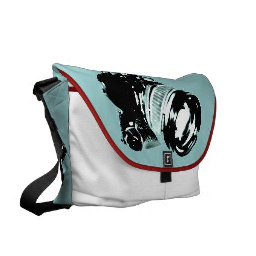 bolso de la cámara de la foto bolsa de mensajeria