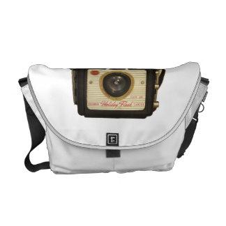 Bolso de la cámara del brownie bolso del ordenador bolsas de mensajeria