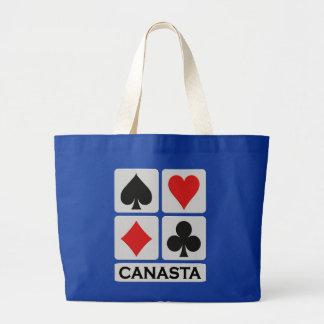 Bolso de la canasta - elija el estilo y el color bolsa tela grande