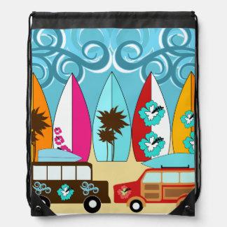 Bolso de la cincha de las furgonetas del Hippie de Mochilas
