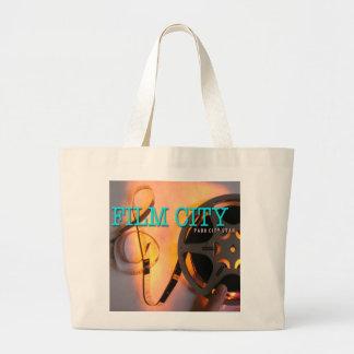 Bolso de la ciudad de la película (Park City, Utah Bolsa De Tela Grande