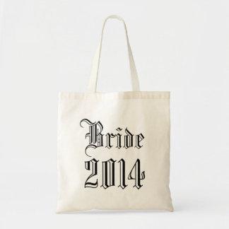 Bolso de la dama de honor 2014 - blanco y negro bolsa tela barata