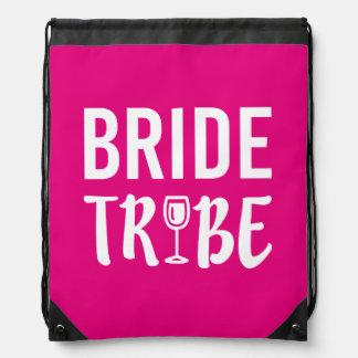 Bolso de la dama de honor de la tribu de la novia mochila