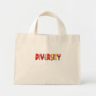 Bolso de la diversidad bolsas de mano