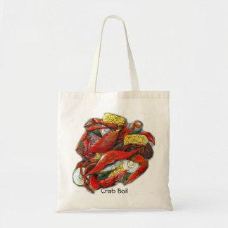 Bolso de la ebullición del cangrejo bolsas