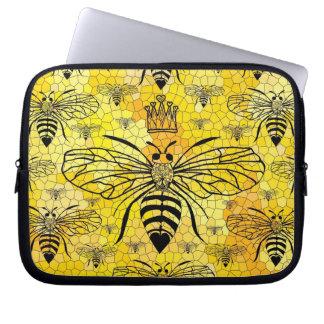 Bolso de la electrónica de la abeja reina fundas ordendadores