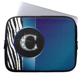 Bolso de la electrónica de la cinta de la raya de mangas computadora