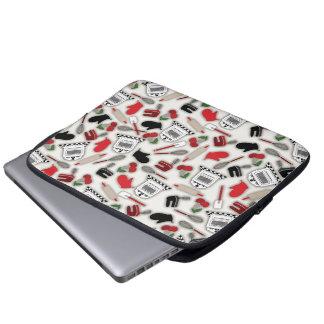 Bolso de la electrónica de la cocina del encanto d fundas computadoras