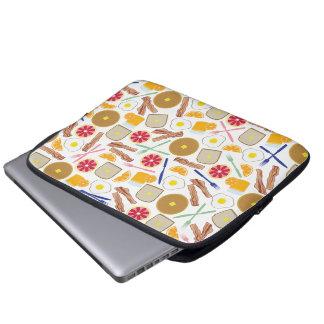Bolso de la electrónica de las comidas de desayuno mangas computadora