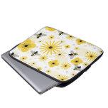 Bolso de la electrónica de las flores y de los lun fundas portátiles