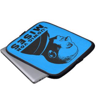 Bolso de la electrónica de Ludwig von Mises Mangas Computadora