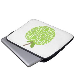 Bolso de la electrónica del profesor de la educaci mangas portátiles