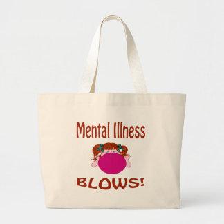 Bolso de la enfermedad mental de los soplos bolsa