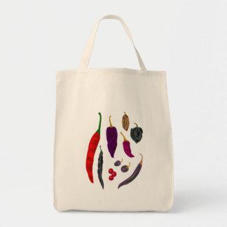 Bolso de la especia de los pimientos picantes bolsas de mano