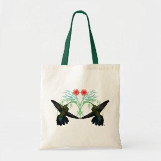Bolso de la fantasía de los colibríes bolsa tela barata