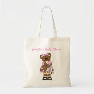 Bolso de la fiesta de bienvenida al bebé bolsa tela barata