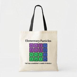 Bolso de la física de partícula elemental bolsa