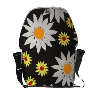 Bolso de la flor bolsas de mensajería