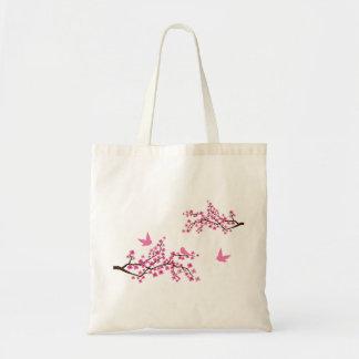Bolso de la flor de cerezo bolsas de mano