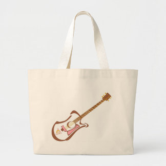 Bolso de la guitarra bolsa tela grande