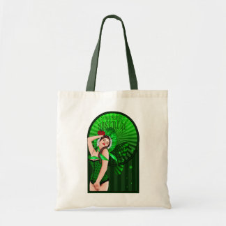 bolso de la hada del verde del victorian del ajenj bolsa de mano
