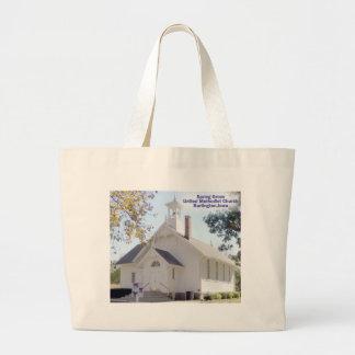 Bolso de la iglesia metodista de la arboleda de la bolsas lienzo