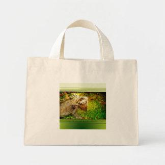 bolso de la iguana bolsa de mano