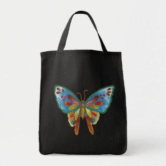 Bolso de la impresión de la gota de la mariposa bolsa de mano