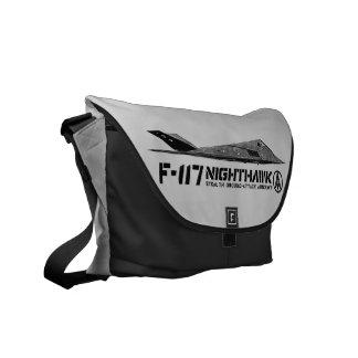 Bolso de la impresión exterior del Nighthawk F-117 Bolsas Messenger