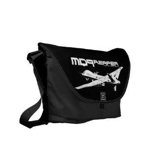 Bolso de la impresión exterior del segador MQ-9 Bolsa Messenger