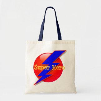 Bolso de la invitación del superhéroe bolsas