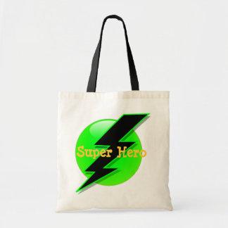 Bolso de la invitación del superhéroe bolsa