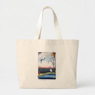 Bolso de la isla de Mikawa Bolsa Tela Grande