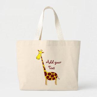 Bolso de la jirafa bolsas de mano