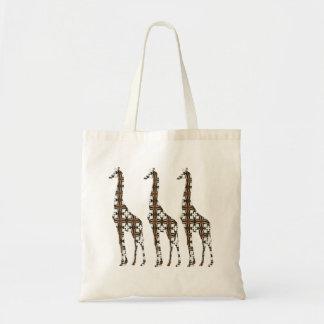 Bolso de la jirafa de Florilla Bolsa Tela Barata