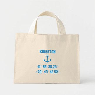 Bolso de la latitud y de la longitud de Kingston M Bolsas De Mano