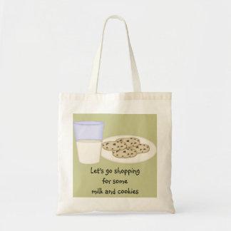 Bolso de la leche y de las galletas bolsas