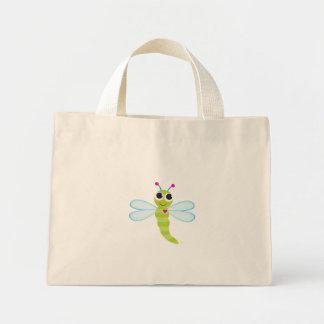 Bolso de la libélula bolsa tela pequeña