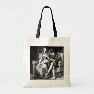 Bolso de la lona de arte del vintage bolsas de mano