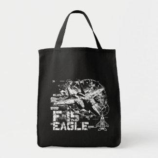 Bolso de la lona de F-15 Eagle Bolsa Tela Para La Compra