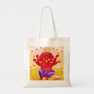 Bolso de la lona de Trimukah Ganesha Bolsa