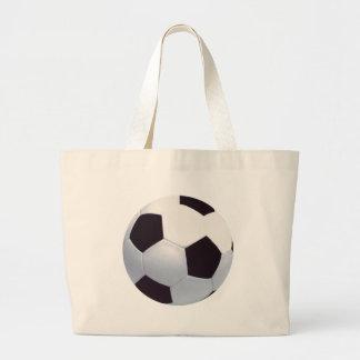 Bolso de la lona del balón de fútbol bolsa tela grande