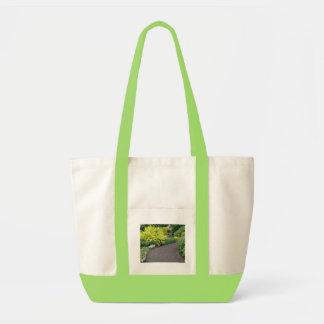 Bolso de la lona del jardín botánico bolsa tela impulso